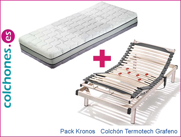 Pack Kronos más colchón Termotech Grafeno Hukla