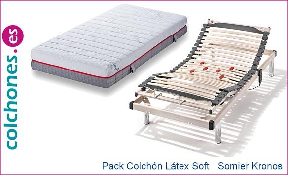 Pack Kronos más colchón Látex Soft de Hukla