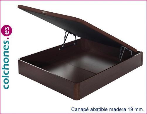Opiniones del canapé abatible madera 19 con tapa 3D de Flex