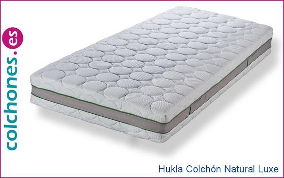 colchón Natura Luxe Látex 100% de Hukla