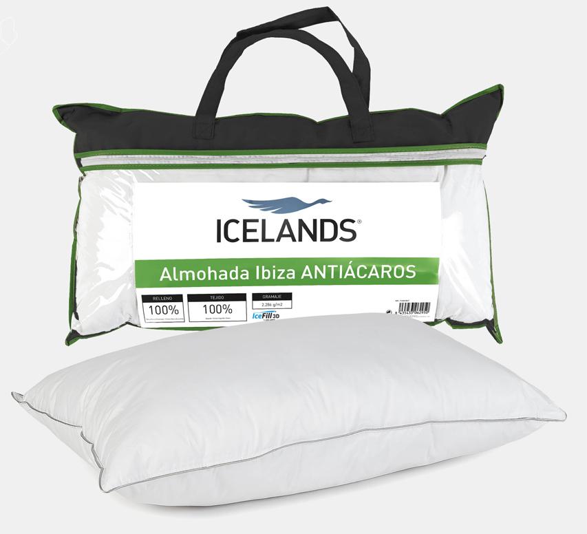 almohada antiácaros Ibiza de Icelands