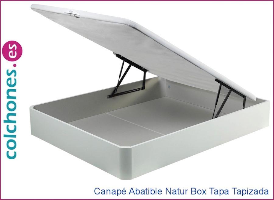 Valoraciones del canapé abatible Naturbox madera de Pikolin