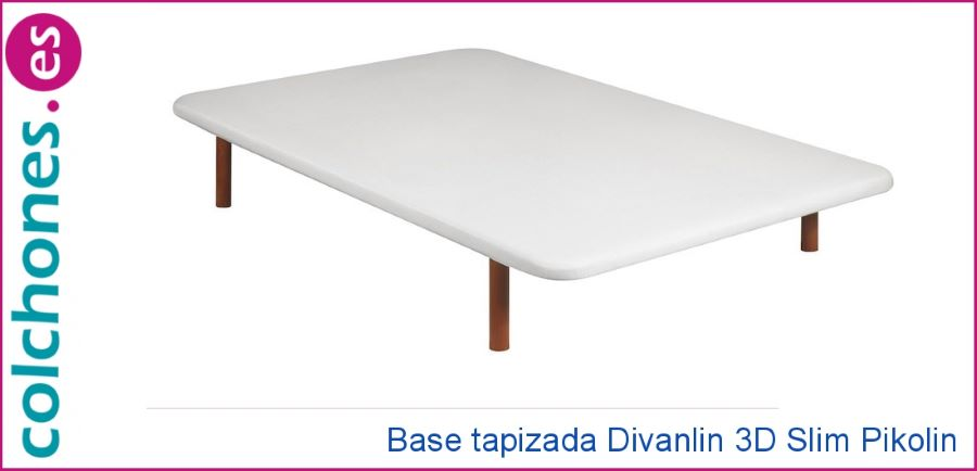 Base tapizada Divanlín 3D transpirable de Pikolin