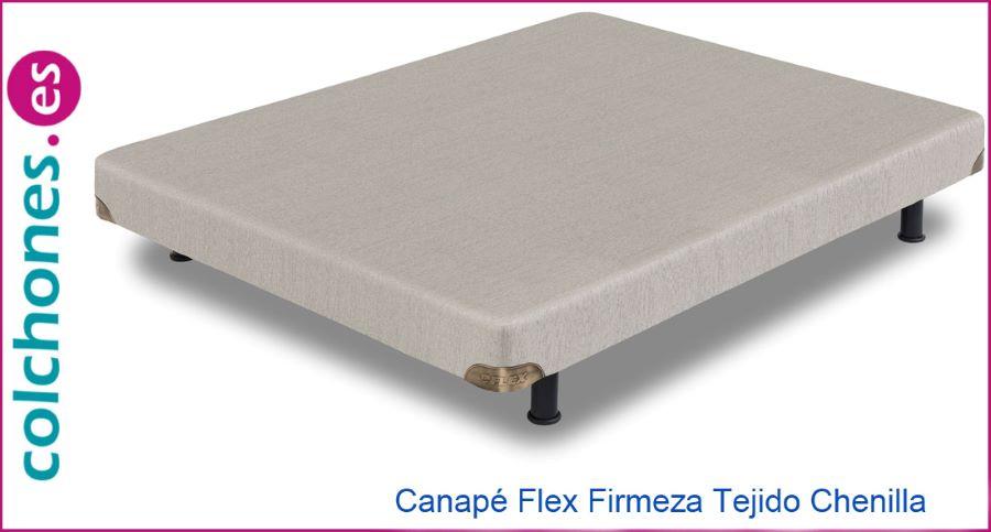 Canapé Firmeza tejido Chenilla de Flex