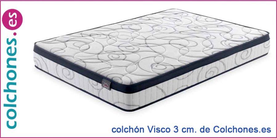 Colchón Visco 3cm de Colchones.es