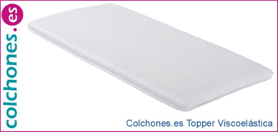 Opiniones topper viscoelástico de Colchones.es