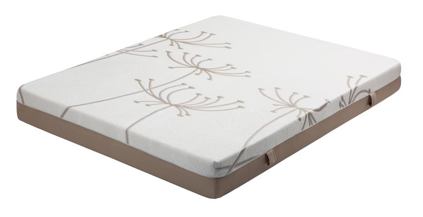 colchón articulable de espumación y 6 cm de viscoelástica