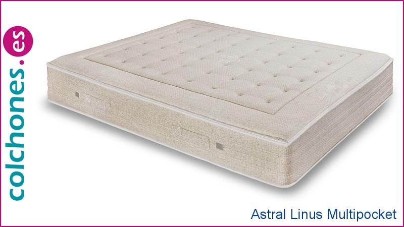 Comparar el colchón Royal Sonpura con el Linus Multipocket de Astral
