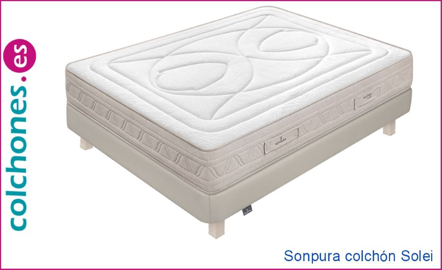 colchón Sealy Vermont comparado con Solei Sonpura