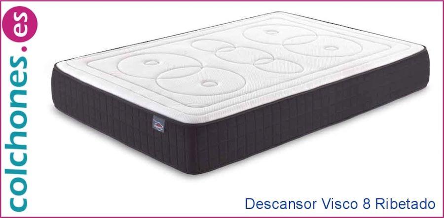colchón Confort Plus Hypnia comparado con colchón visco 8 cm de Colchones.es