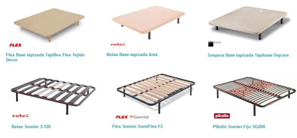 Apoyar un colchón de espumación HR sobre base tapizada o somier de láminas