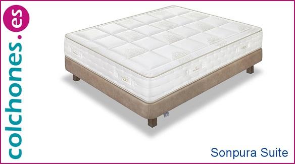 probar el colchón Suite de Sonpura