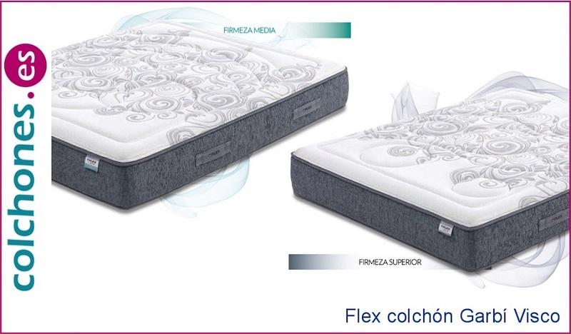 Probar el colchón Garbí Visco de Flex