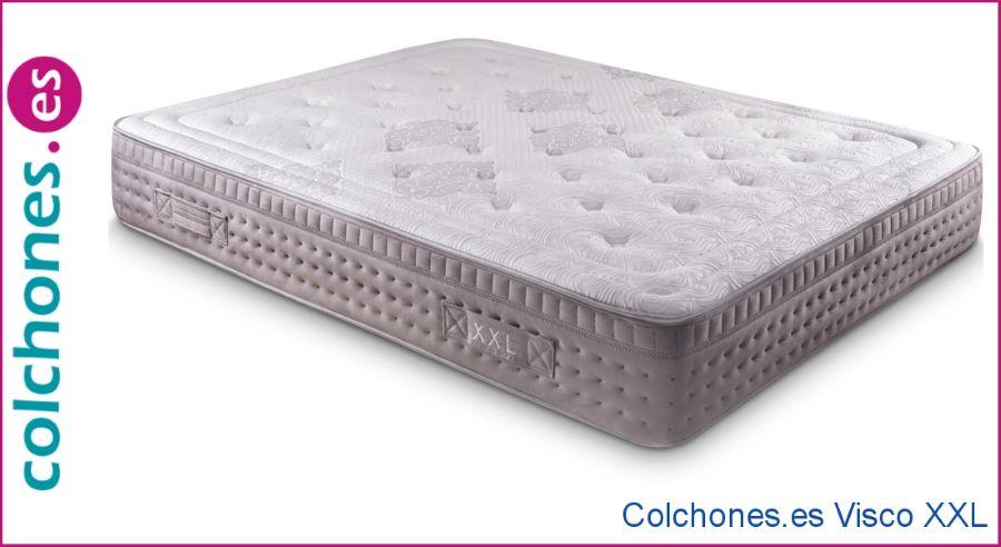 densidad de un colchón para pesos elevados