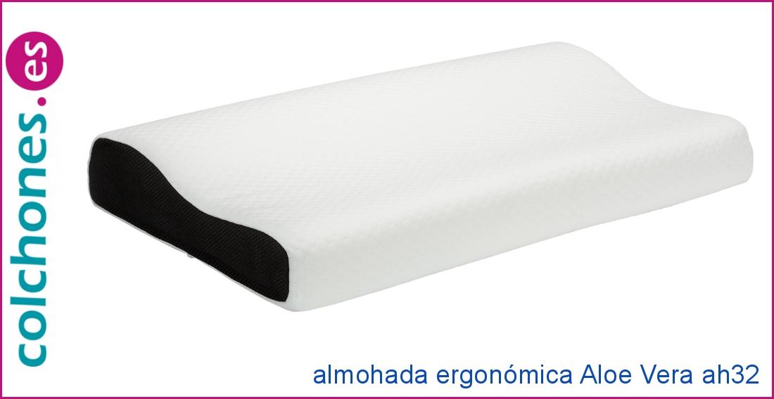 Almohada Ergonómica Aloe Vera de Pikolín Home