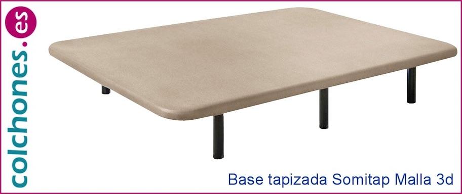 Base Tapizada Somitap Curvo de Malla 3D de Colchones.es