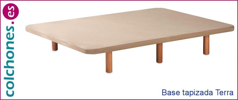 Base tapizada B+Patas incluidas de Colchones.es