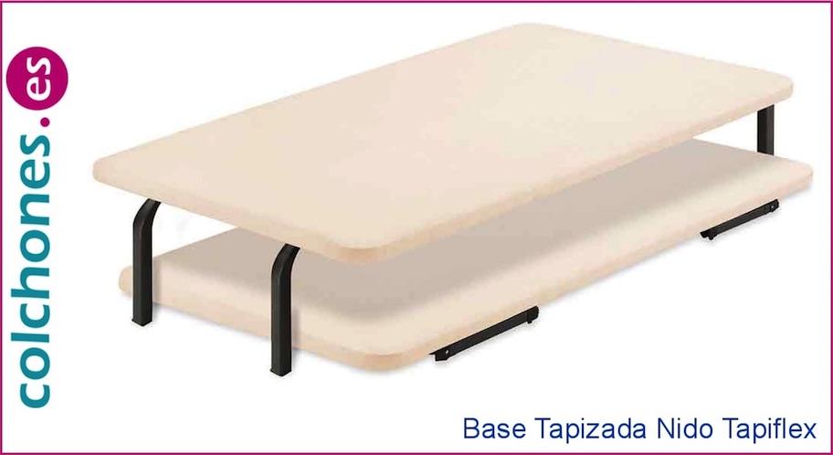 Base tapizada nido Tapiflex de Flex