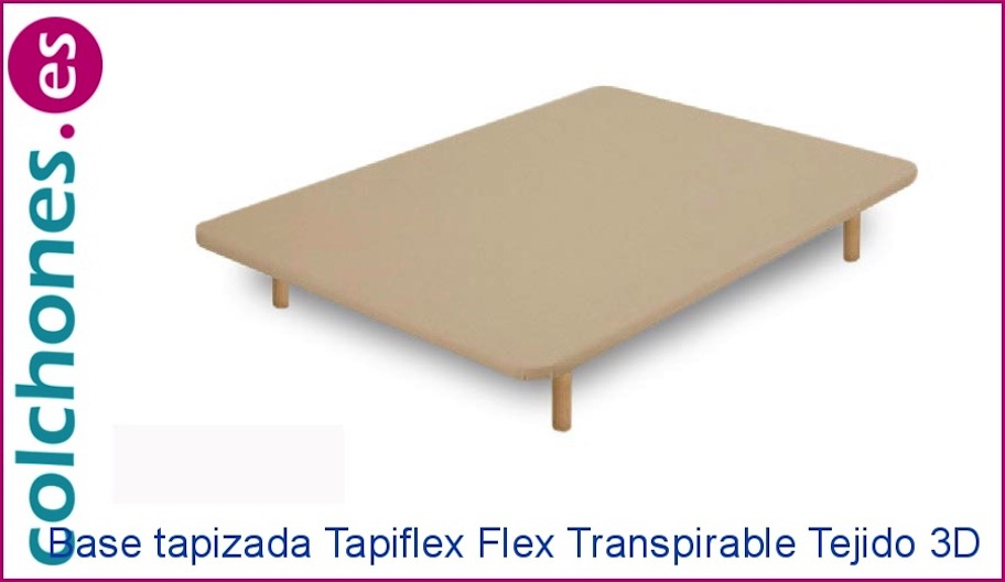 Tapiflex transpirable en tejido 3D de Flex