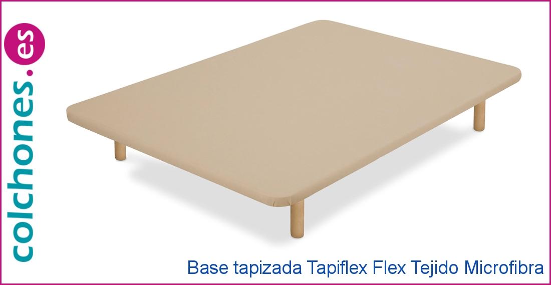 Base tapizada Tapiflex de Flex, tejido Microfibra