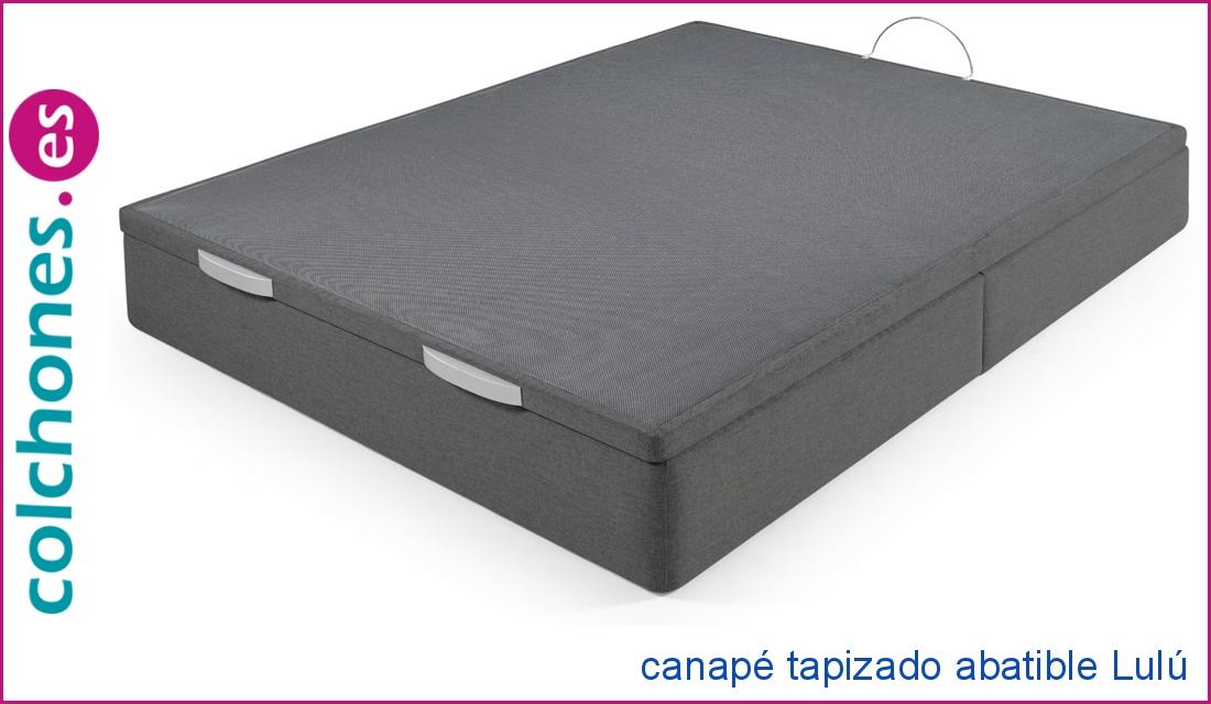 Canapé tapizado Lulú abatible de Colchones.es