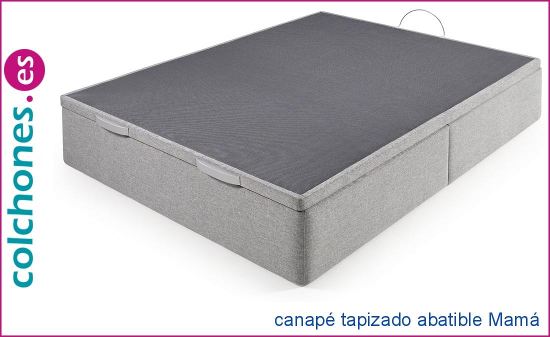 Canapé tapizado Mamá abatible de Colchones.es