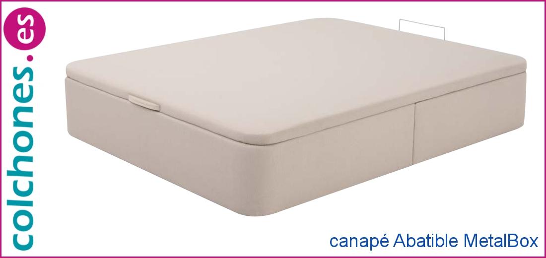 Canapé Abatible MetalBox de Colchones.es