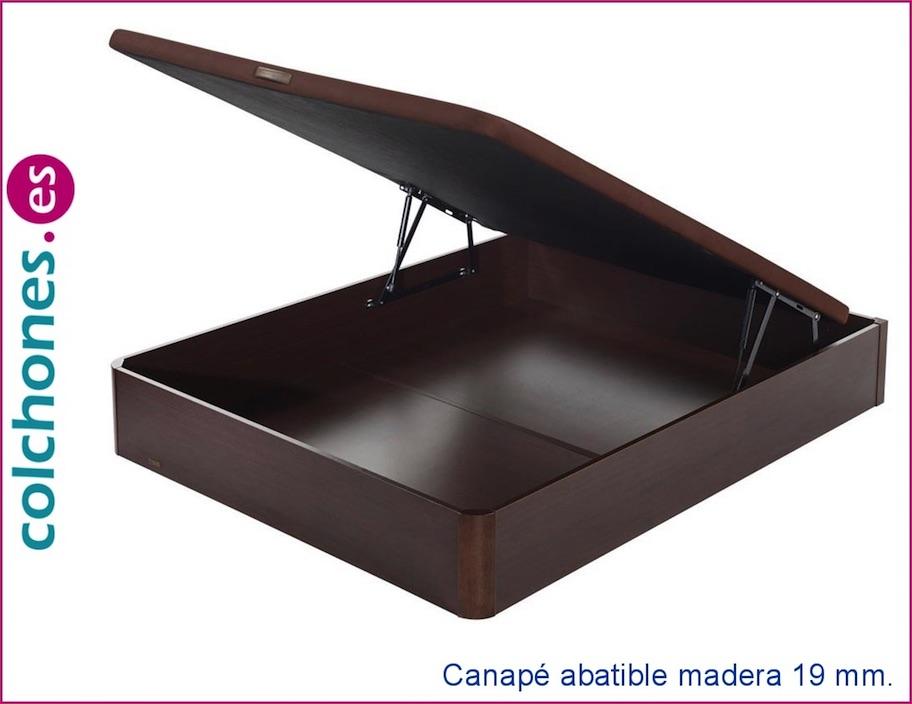 Canapé abatible madera 19 con tapa 3D de Flex