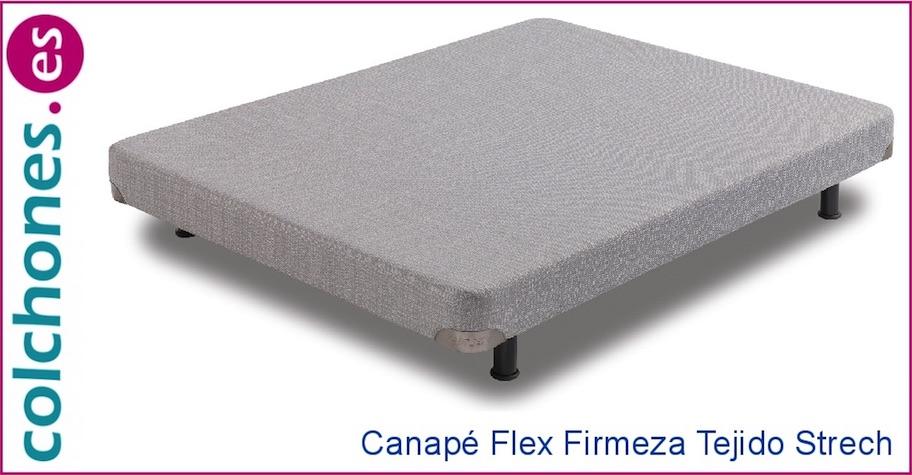 Canapé firmeza transpirable en tejido strech de Flex