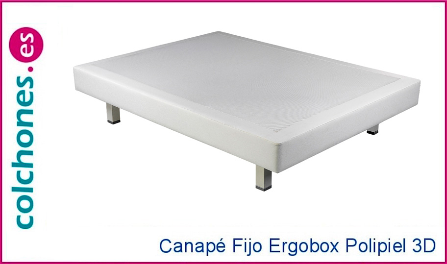 Canapé Ergobox Polipiel + 3D de Pikolin