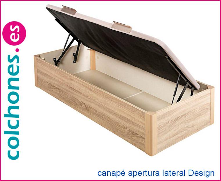canapé tapa embutida apertura lateral Design de Pikolín