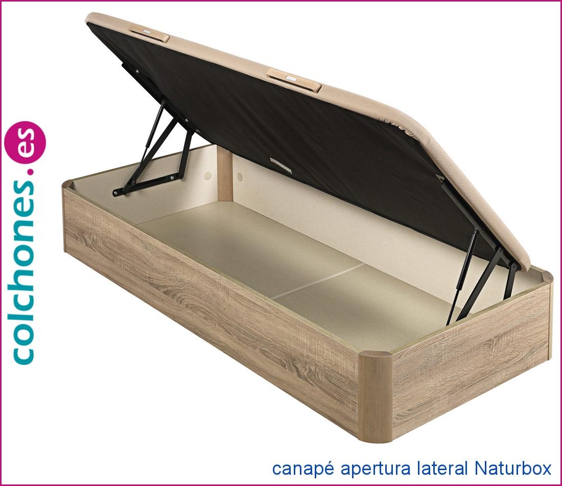 canapé apertura lateral Naturbox de Pikolín
