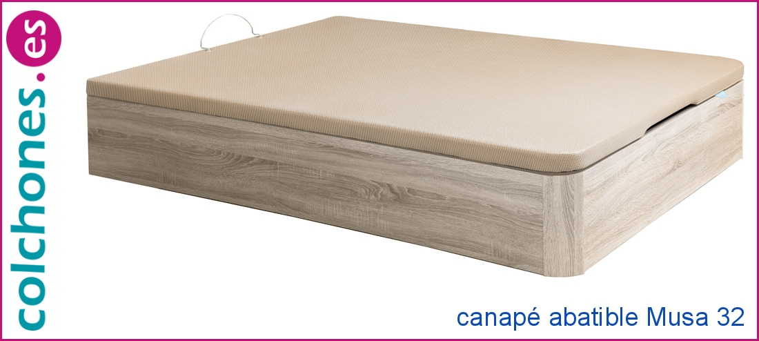 Canapé madera Musa 32 abatible de Relax