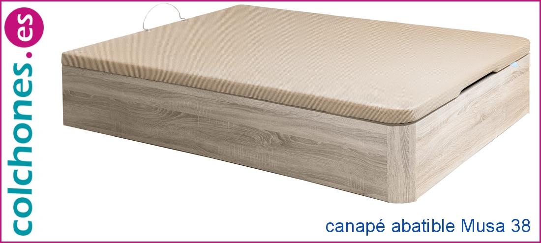 Canapé madera Musa 38 abatible de Relax