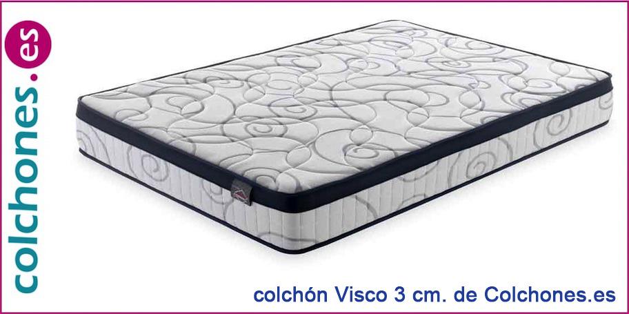 Colchón Visco 4 ribeteado de Colchones.es