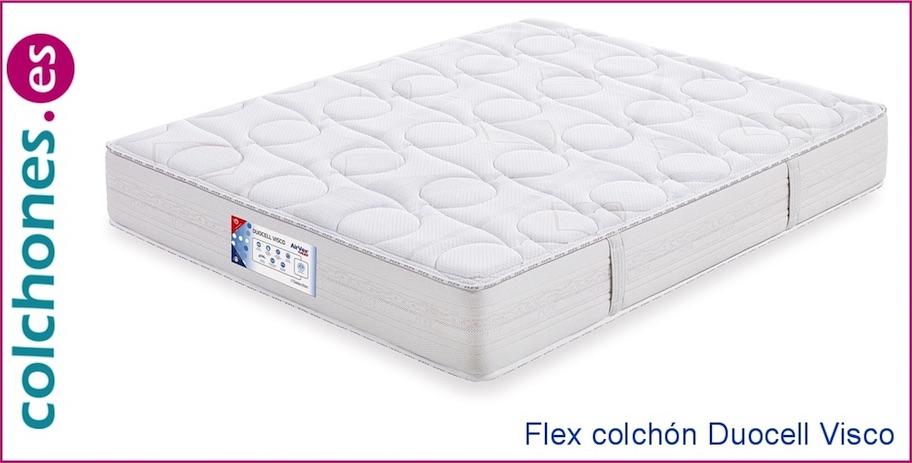 Colchón Flex Duocell Visco