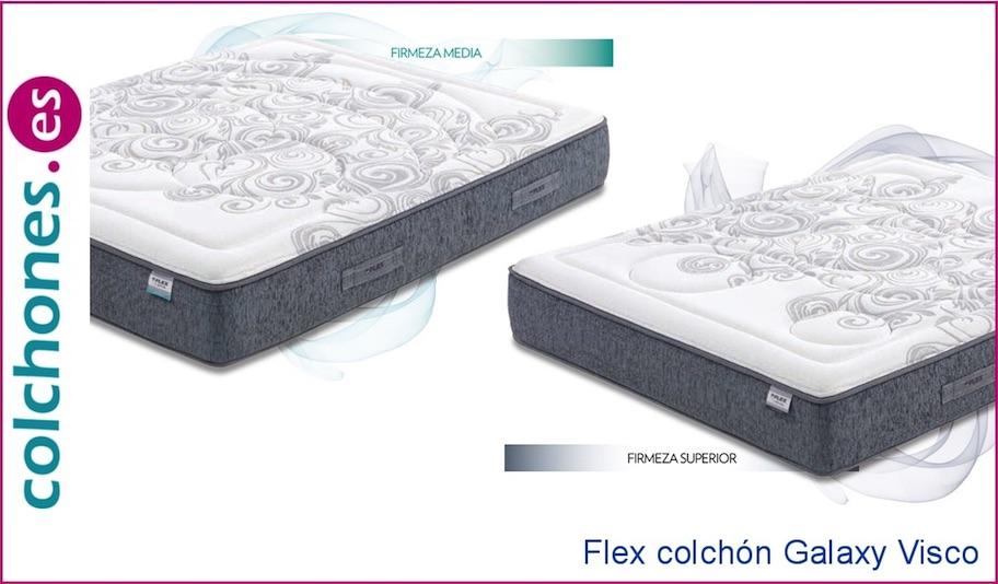 Colchón Galaxy Visco de Flex