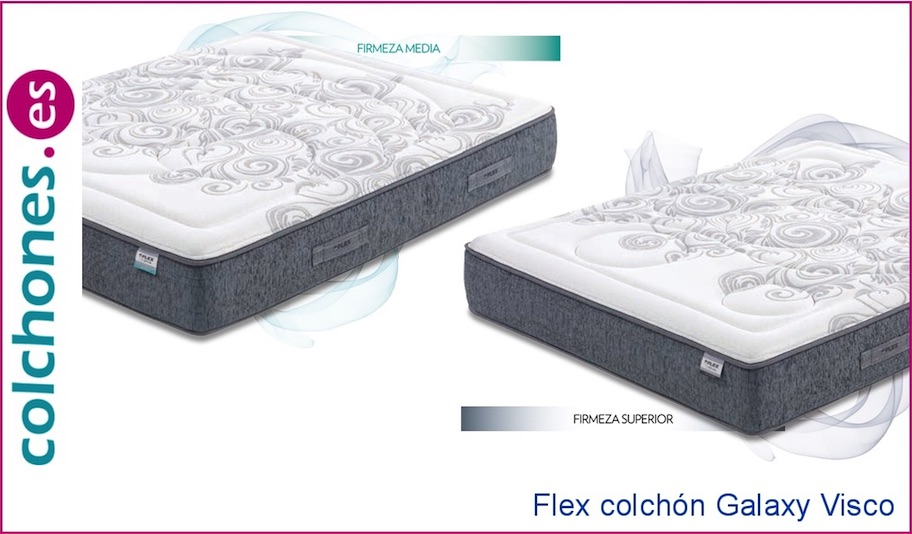Colchón Galaxy Visco de Flex