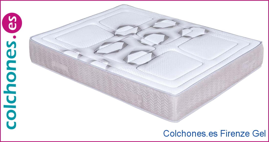 Colchón Firenze Gel de Colchones.es