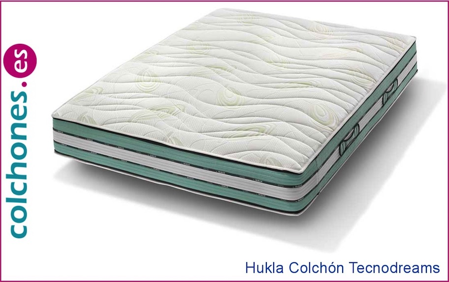 Colchón Visco Tecnodreams Memory Top Hukla