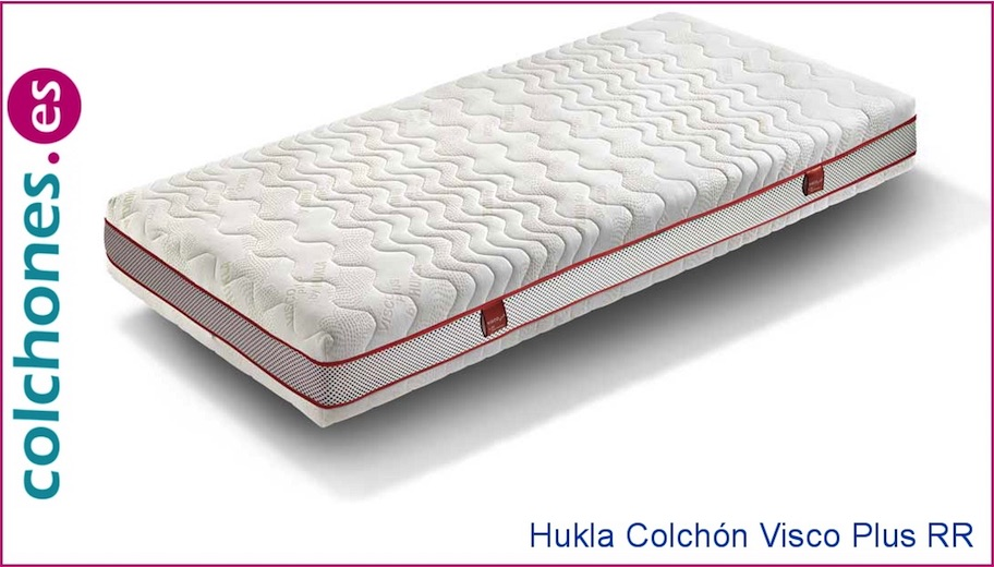 Colchón Visco Plus RR Memory Top Hukla