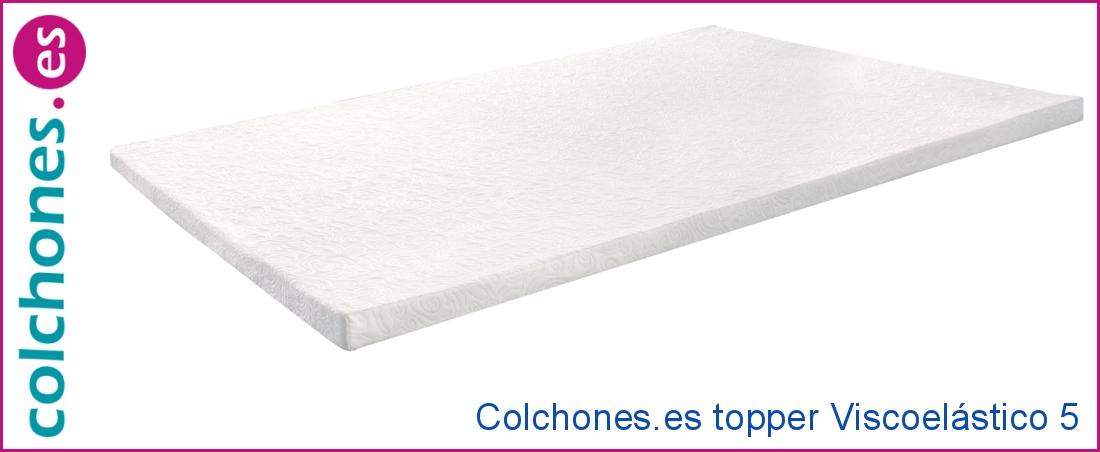 topper Viscoelástico 5 de Colchones.es
