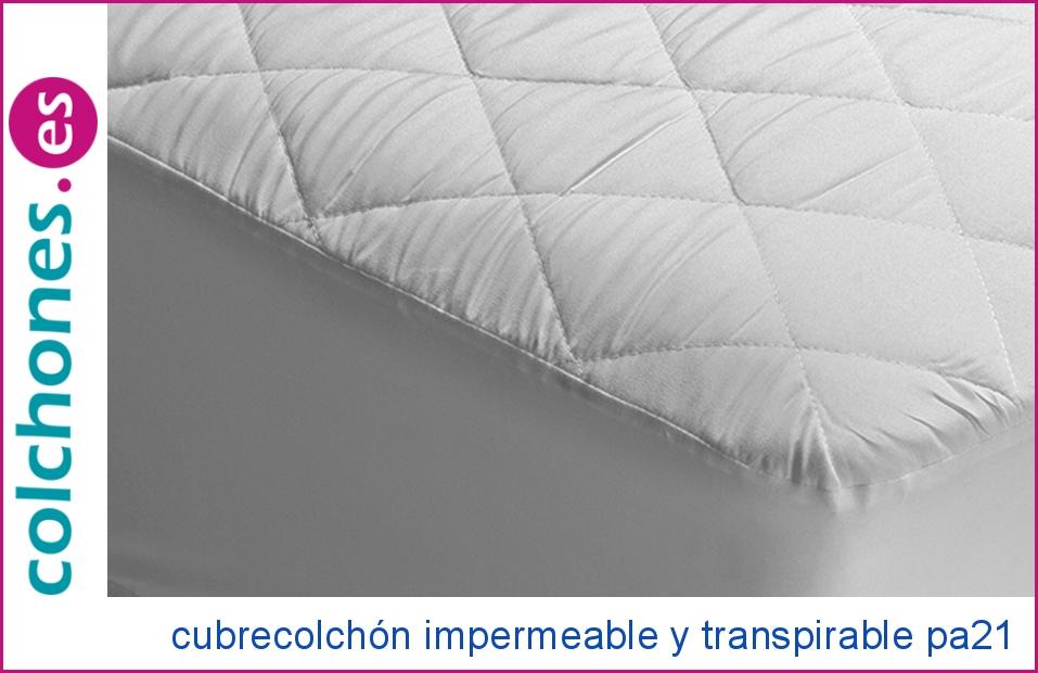 Cubre colchón impermeable y transpirable de Pikolin Home