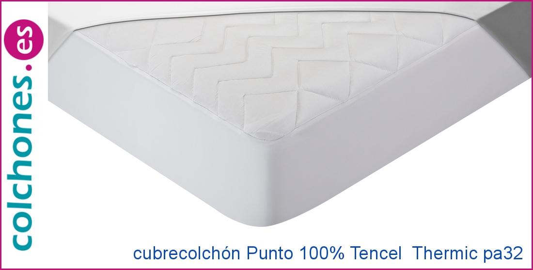 Cubrecolchón Punto 100% Tencel +Thermic de Pikolin Home