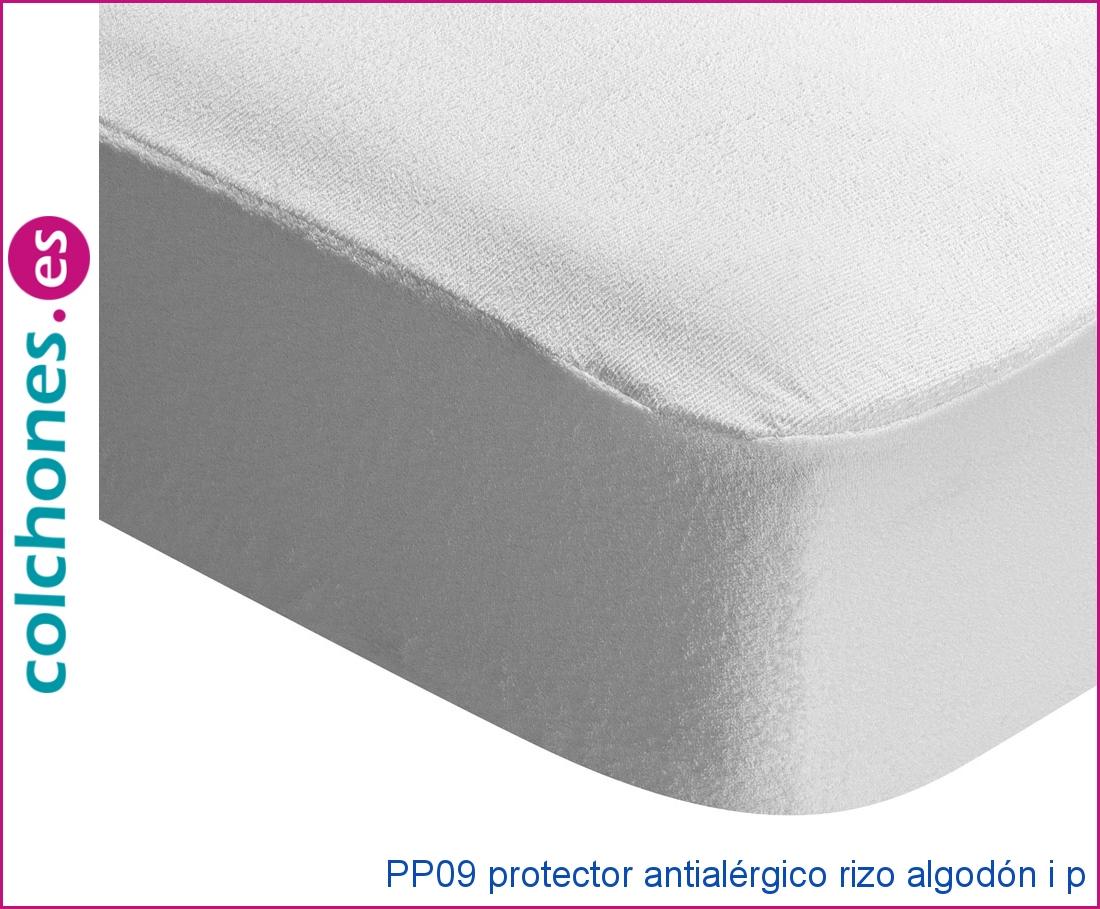 Protector antialérgico rizo algodón, i+p de Pikolin Home pp09