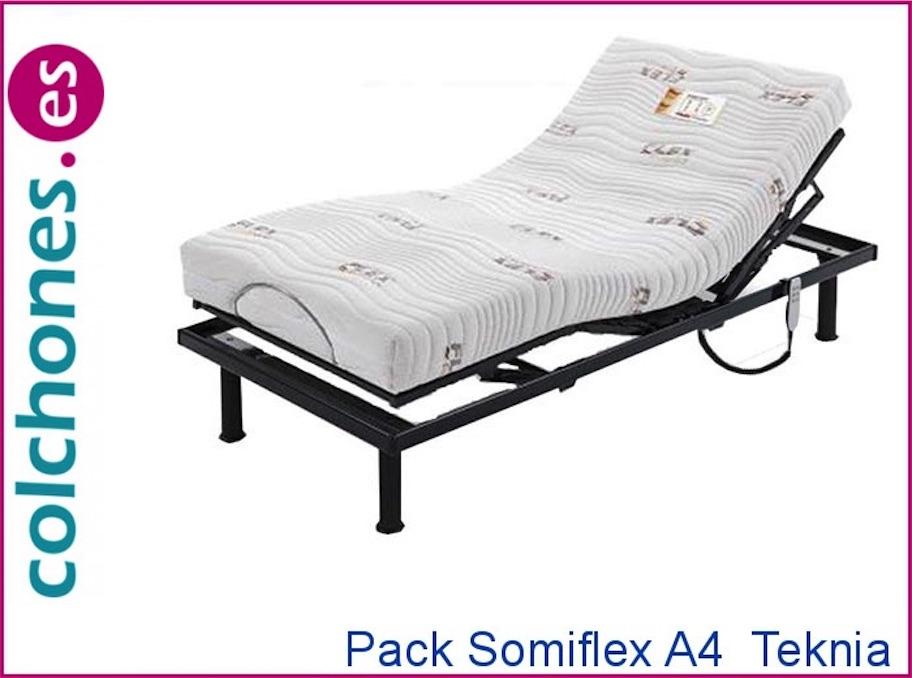 Pack Somiflex A4 y Colchón Teknia de Flex