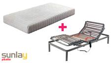 Pack somier eléctrico Basic y colchón Art 18 de Pikolin mini