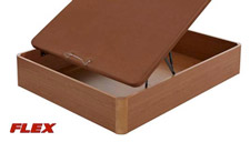 Canapé abatible madera 25 con tapa en 3D de Flex mini