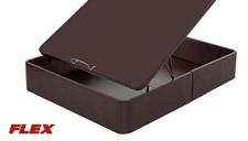 Canapé abatible tapizado en polipiel con tapa 3D de Flex mini
