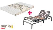 Pack somier eléctrico Basic y colchón Moma de Sunlay mini